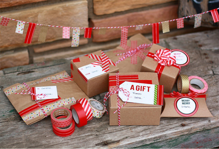 Do it Yourself Christmas Gift Packing do it yourself christmas gift packing