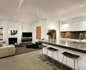Living Room & Kitchen Open Space (1)