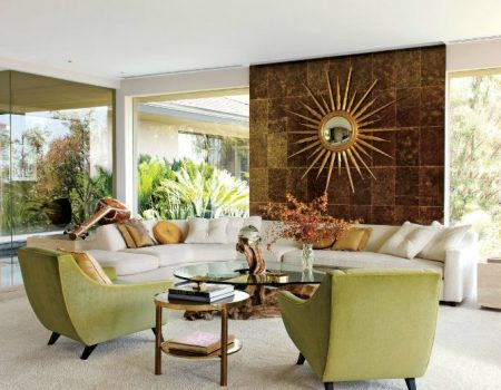 Mid-century modern living room Take Notes from 20 Inspirational Mid-Century Modern Living Rooms Take Notes from 20 Inspirational Mid Century Modern Living Rooms 20 450x350