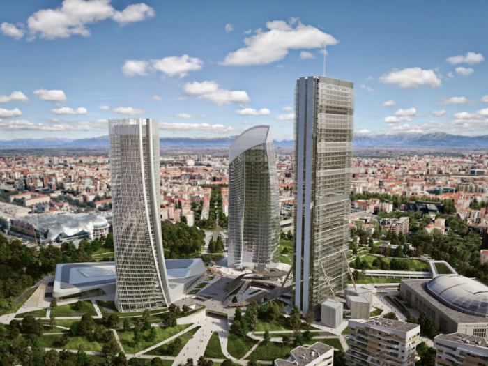 7 favorites projects from zaha hadid for Design render milano