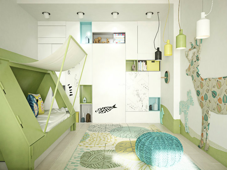 5 Inspirational Kids Bedrooms With Funny Themes ➤ Discover the season's newest designs and inspirations. Visit us at www.designbuildideas.eu #designbuildideas #homedecorideas #colorschemeideas @designbuildideas kids bedrooms 5 Inspirational Kids Bedrooms With Funny Themes 5 Inspirational Kids Bedrooms With Funny Themes5