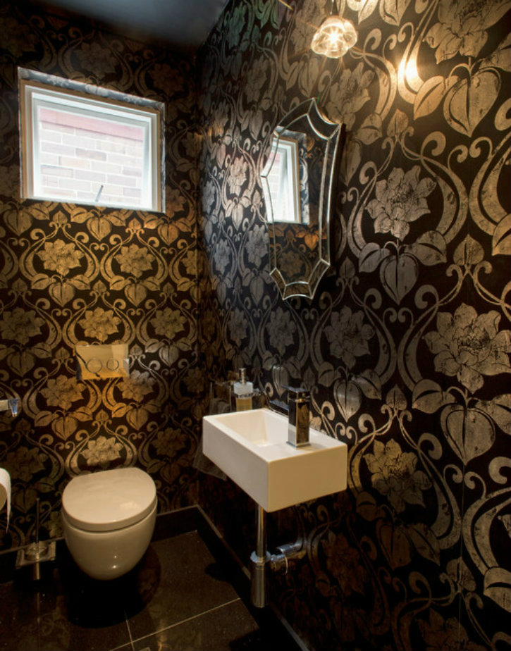 bathroom with wallpaper ideas 10 unique and charming wallpapers for luxury homes1 10 16222