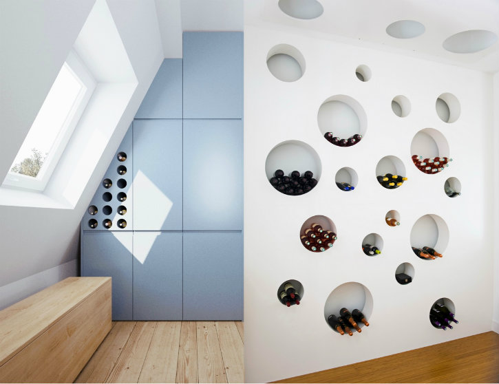 Incredibles Wine Storages to have at home ➤Discover the season's newest designs and inspirations. Visit us at www.designbuildideas.eu #designbuildideas #homedecorideas #colorschemeideas @designbuildideas Wine Storages Incredibles Wine Storages to have at home Incredibles Wine Storages to have at home 3