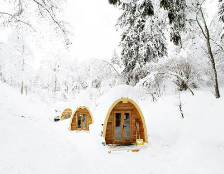 5 Exquisite Tiny Houses and Cabins hidden in Nature