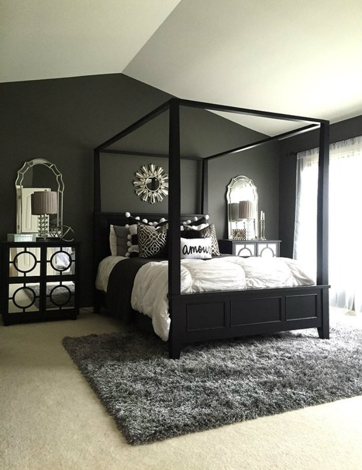 black and white master bedroom decorating ideas feel with these black d 233 cor ideas to your master bedroom 21042