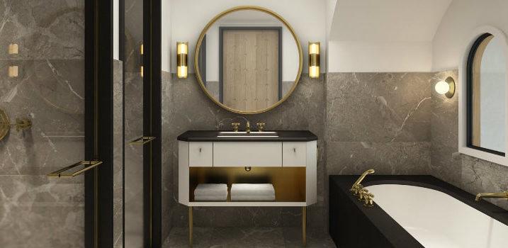 10 Luxury Bathroom Ideas by Well-Known Interior Designers➤ Discover the season's newest designs and inspirations. Visit us at www.bestinteriordesigners.eu #bestinteriordesigners #topinteriordesigners #bestdesignprojects @BestID