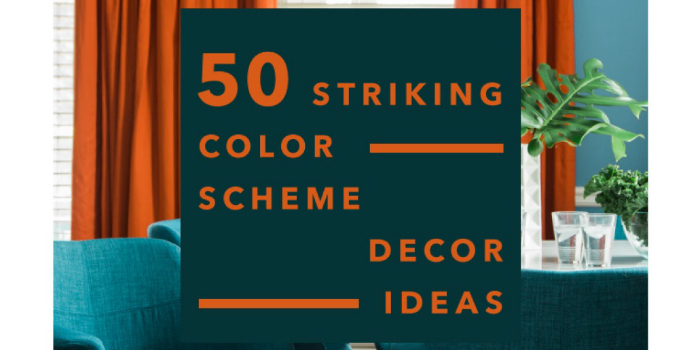 Download Free Ebook 50 Striking Color Scheme Decor Ideas
