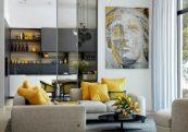 Color Scheme Decorating Ideas: Lemon Yellow is Always a Good Choice ➤ Discover the season's newest designs and inspirations. Visit Design Build Ideas at www.designbuildideas.eu #designbuildideas #homedecorideas #InteriorDesignProjects @designbuildidea