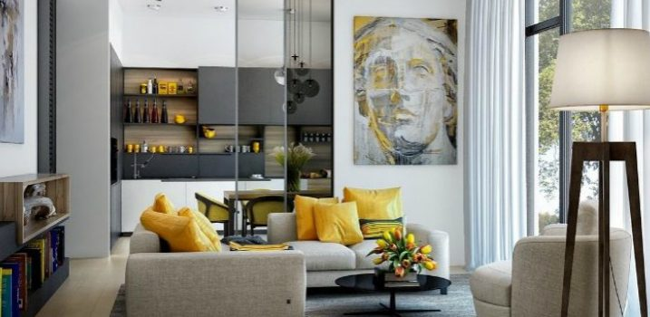 Color Scheme Decorating Ideas: Lemon Yellow is Always a Good Choice ➤ Discover the season's newest designs and inspirations. Visit Design Build Ideas at www.designbuildideas.eu #designbuildideas #homedecorideas #InteriorDesignProjects @designbuildidea