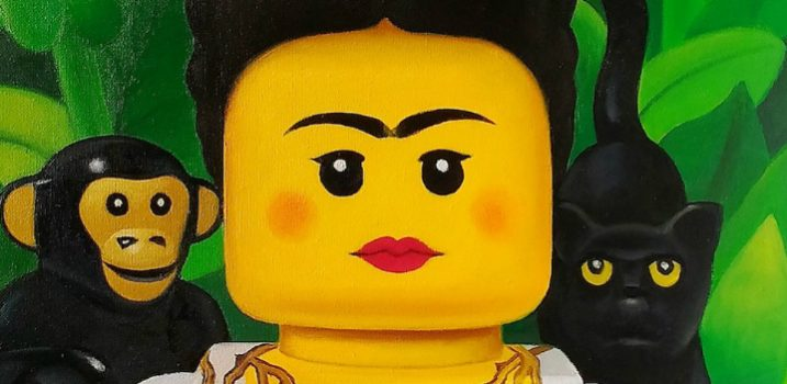 Discover Stefano Bolcato's Famous Paintings LEGO Recreations - Contemporary Art - LEGO Inspired Art - Paitings with Lego ➤ Discover the season's newest designs and inspirations. Visit Design Build Ideas at www.designbuildideas.eu #designbuildideas #LEGOArt #ContemporaryArt #FamousPaintings #StefanoBolcato @designbuildidea