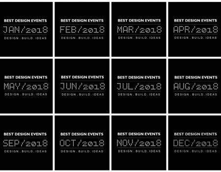 world's best design events in january 2018 Get Ready to Attend to the World's Best Design Events in January 2018 Get Ready to Attend to the World   s Best Design Events in 2018 450x350