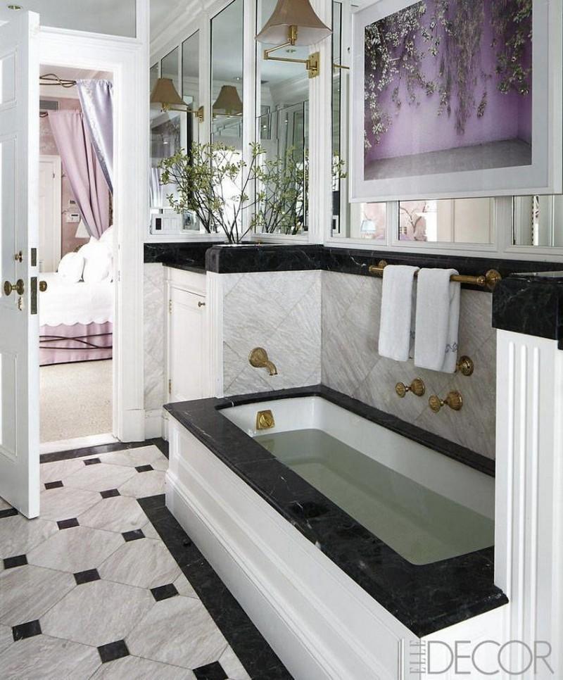 Black and White Bathroom Ideas 8 Awe-Inspiring and Fashionable Black and White Bathroom Ideas 8 Awe Inspiring and Fashionable Black and White Bathroom Ideas 6