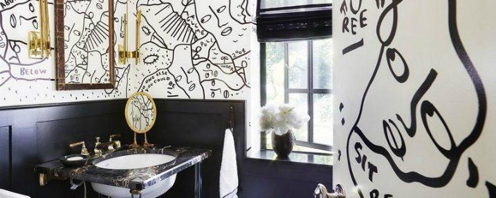 8 Awe-Inspiring and Fashionable Black and White Bathroom Ideas