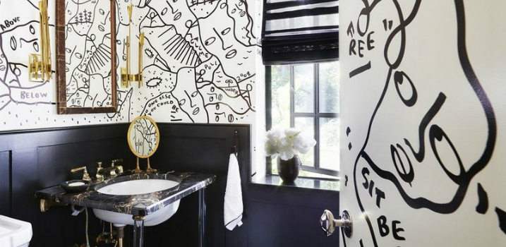 black and white bathroom 8 Awe-Inspiring and Fashionable Black and White Bathroom Ideas featured