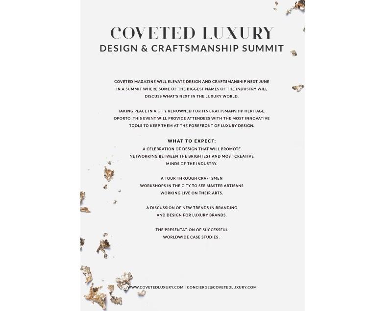 Best Design Events CovetED Luxury Design & Craftsmanship Summit 2018 2 best design events Best Design Events: CovetED Luxury Design & Craftsmanship Summit 2018 Best Design Events CovetED Luxury Design Craftsmanship Summit 2018 2