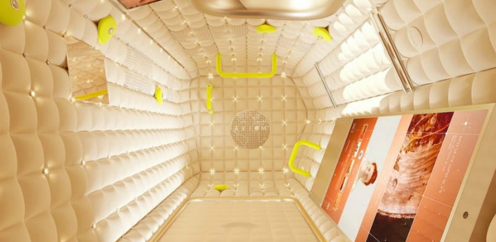 Axiom Space and Philippe Starck Collaborate on a Touristic Spacecraft