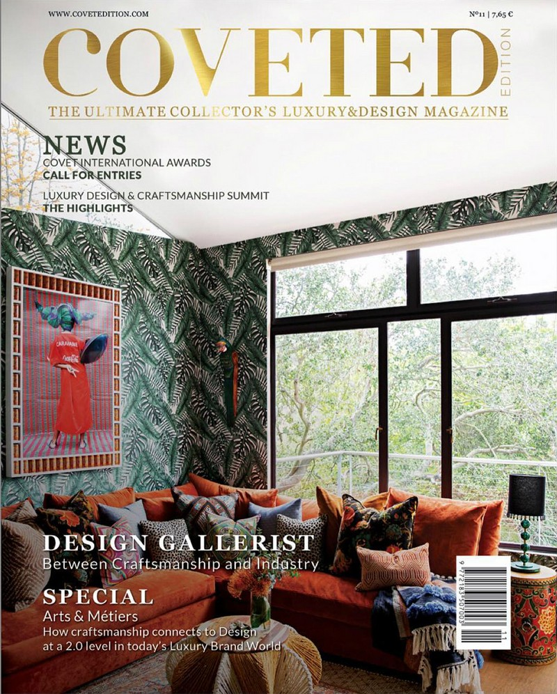 CovetED Magazine's New Issue Honors the Arts and Crafts Movement 2
