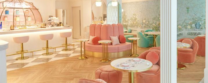 Classy Ch Tea Room Kobe in Japan is a Must-Visit Luxury Destination