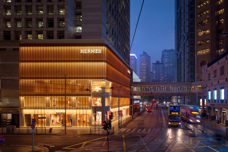 Paris-Based Agency RDAI Designs Hermes Store Project in Hong Kong hermes design project Paris-Based Agency RDAI Designs Hermes Store Project in Hong Kong Paris Based Agency RDAI Designs Herm  s Store Project in Hong Kong 3