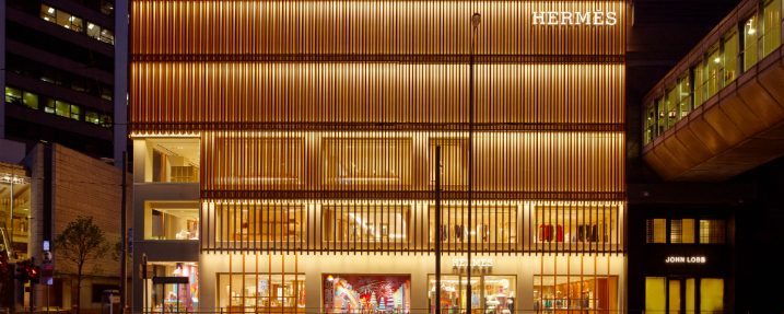 Paris-Based Agency RDAI Designs Hermes Store Project in Hong Kong