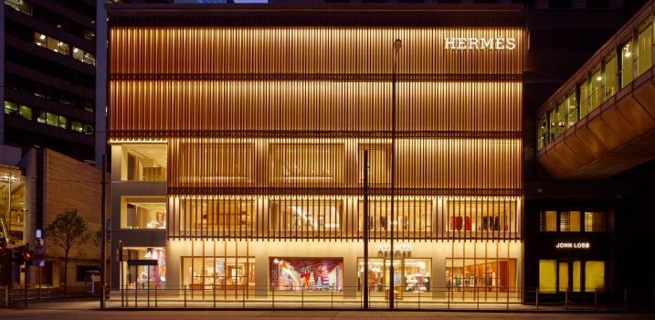 hermes design project Paris-Based Agency RDAI Designs Hermes Store Project in Hong Kong featured 10