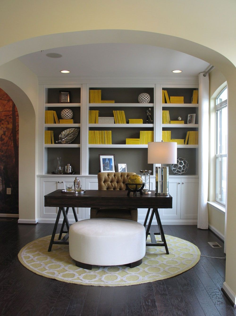 18 Awe-Inspiring Home Office Designs full of Colors and Textures 10