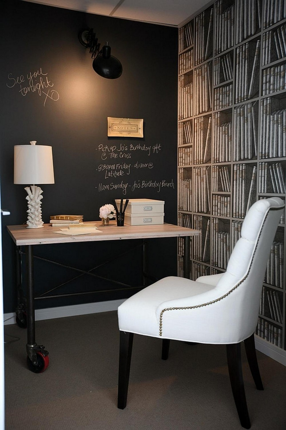 18 Awe-Inspiring Home Office Designs full of Colors and Textures 15