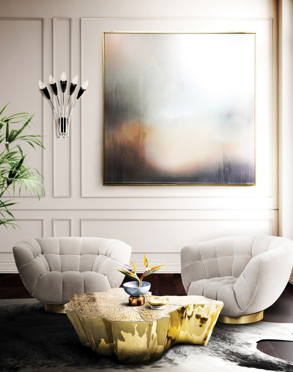 20 Modern Center Tables for a Comfortable and Luxurious Living Room 1