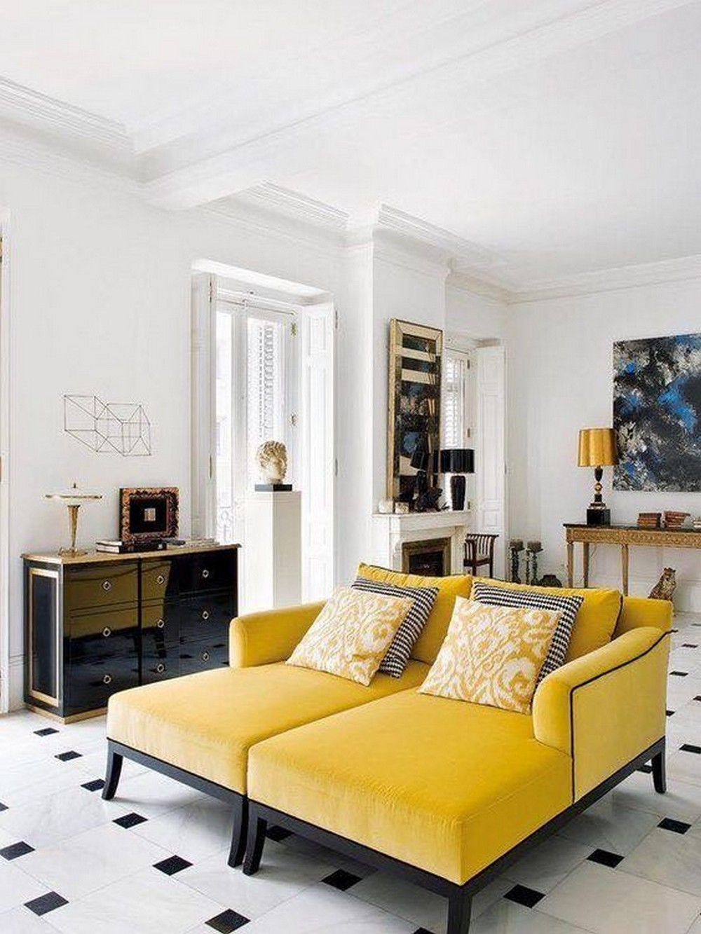 Yellow Mellow: feel inspired by this 2019 interior design trend Yellow Mellow Yellow Mellow: feel inspired by this 2019 interior design trend 8e8b4b6bf10b893b4bc5ef1083501d57