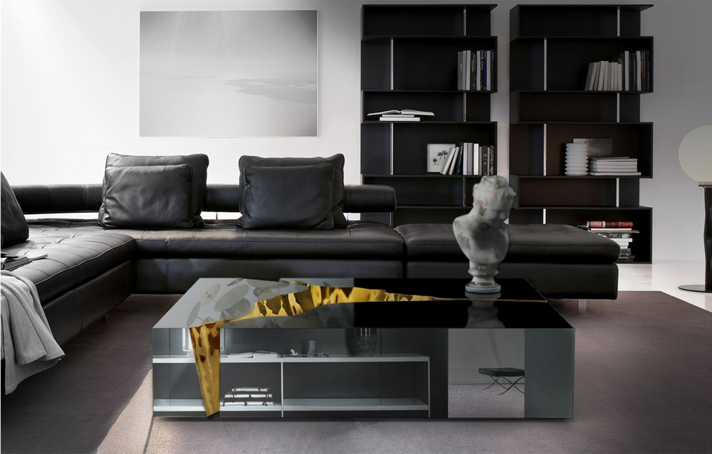 Create a new mood to your home decor with Black style black style Create a new mood to your home decor with Black style BL Living Room 24