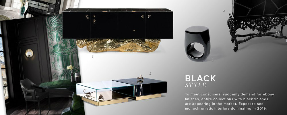 black style Create a new mood to your home decor with Black style FEATURE 2