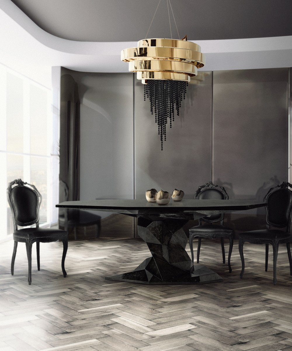 black style Create a new mood to your home decor with Black style LX Dining Room mar17 1