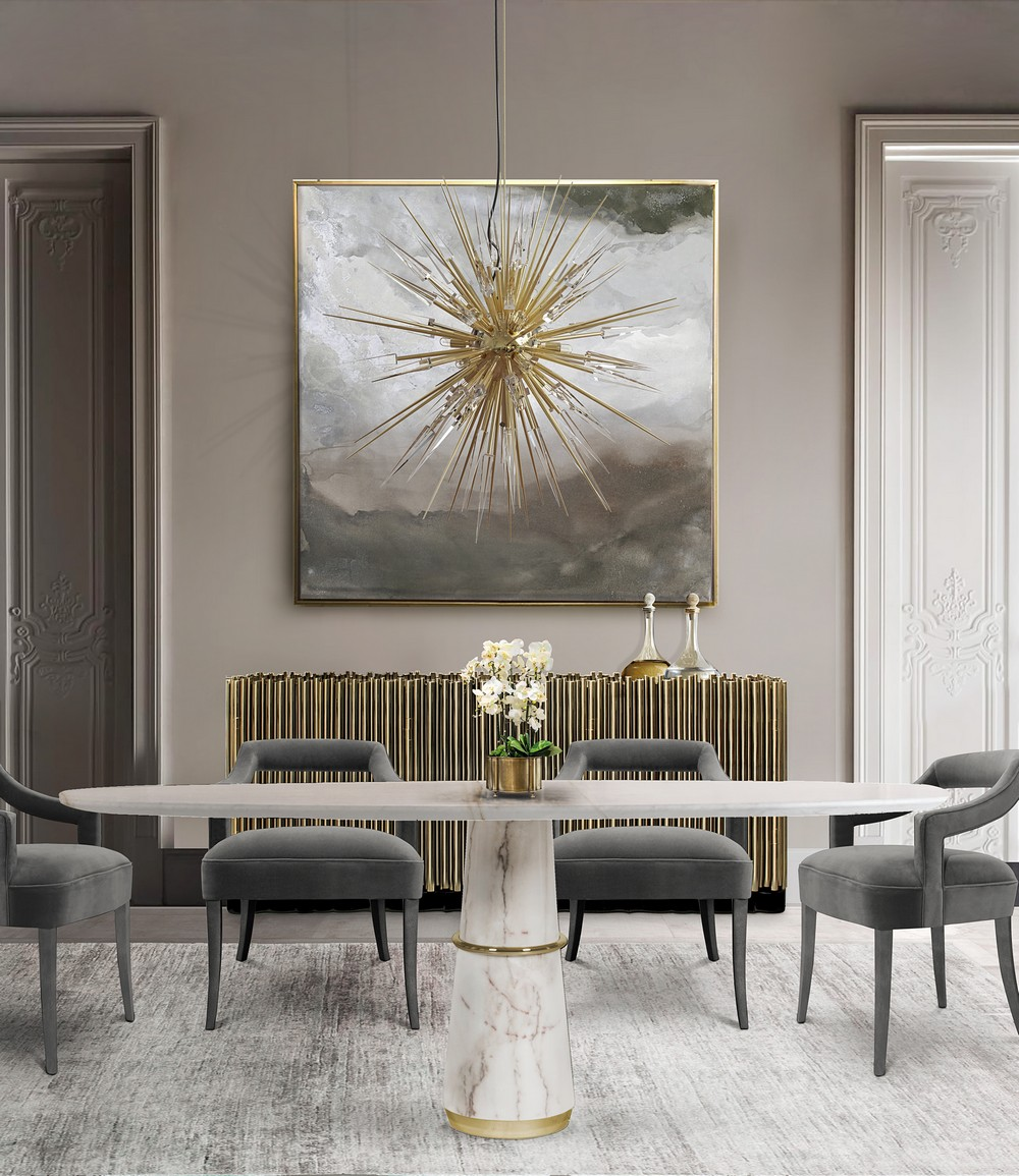 abstract art geometric Give a new look to your home with Abstract Art Geometric trend LX Dining Room mar17 2