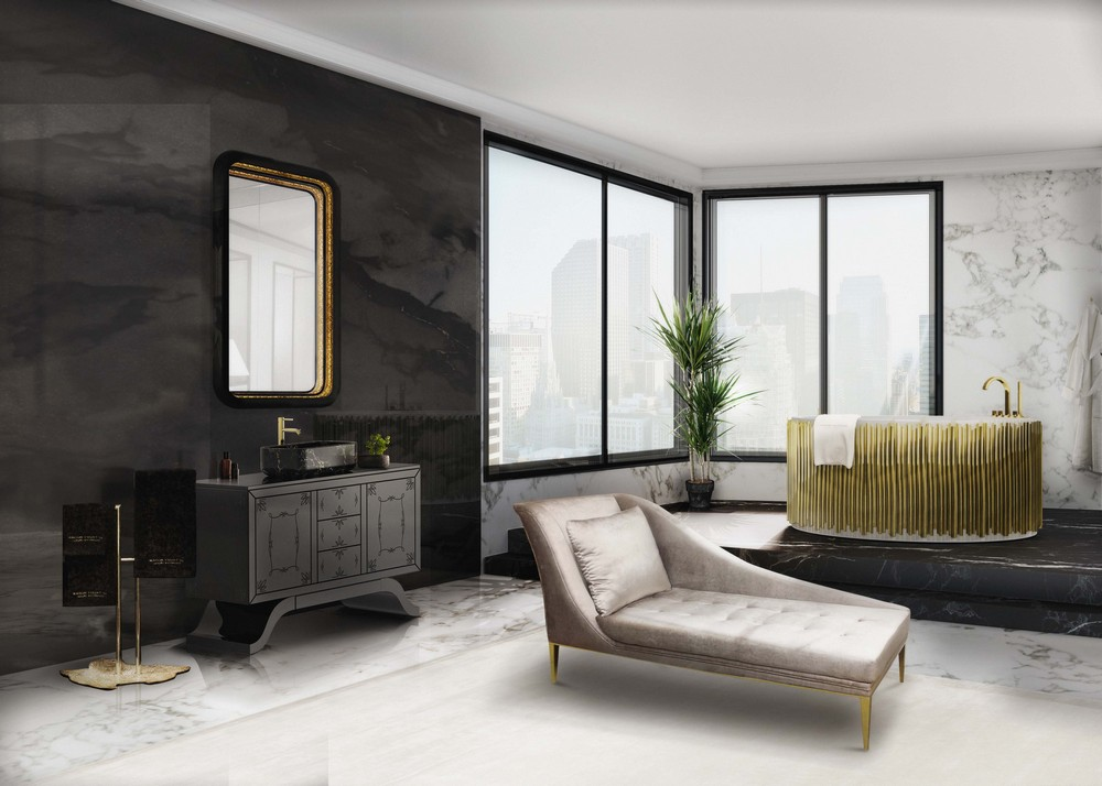 An Open-Concept Bathroom? Yes, this is a trend for 2019! Open-Concept Bathroom An Open-Concept Bathroom? Yes, this is a trend for 2019! MV Bathroom 14
