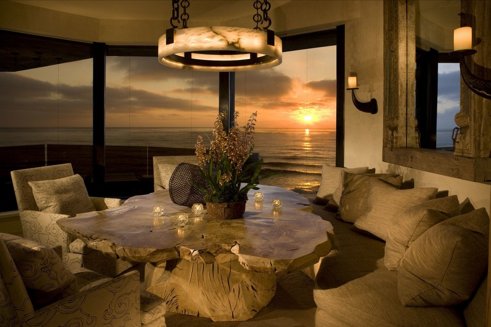 6 fantastic Dining Tables used by top interior designers in projects dining tables 6 fantastic Dining Tables used by top interior designers in projects Ocean Front Oasis Dining Room By Mark Boone