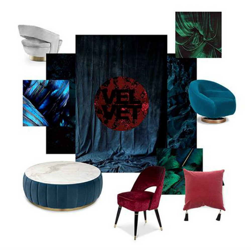 top luxury brands These Furniture Trends By Top Luxury Brands Will Take You to 2020! Velvet Moodboard