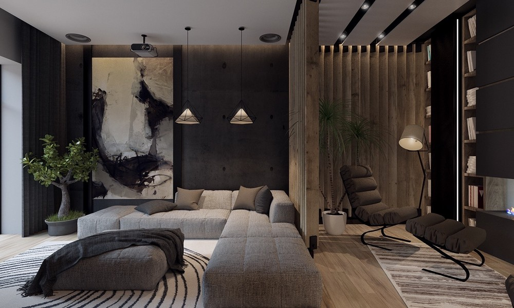 Create a new mood to your home decor with Black style black style Create a new mood to your home decor with Black style modern decorating decoration grey white inspirations styles small diy style set black living decor clip sets and designs farmho wall rustic room art images ideas