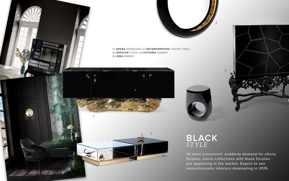 Create a new mood to your home decor with Black style black style Create a new mood to your home decor with Black style moodboard trends 2019 black style