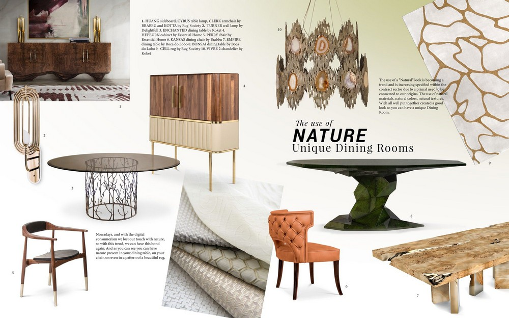 The Use of Nature: inspire yourself with this lovely moodboard use of nature The Use of Nature: inspire yourself with this lovely moodboard moodboard trends 2019 nature