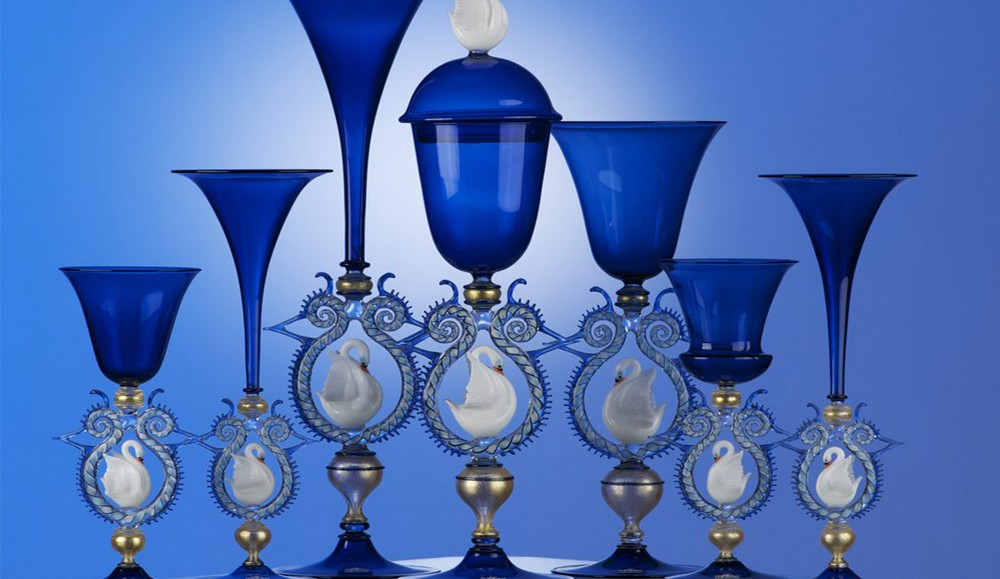 italian craftsmanship Let's have a look at the Most Exquisite Italian Craftsmanship Cesare Toffolo Swan Goblets