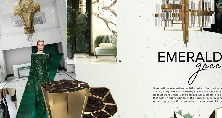 emerald green Emerald Green: the perfect color to bring more glamour to your home FEATURE 5 750x400