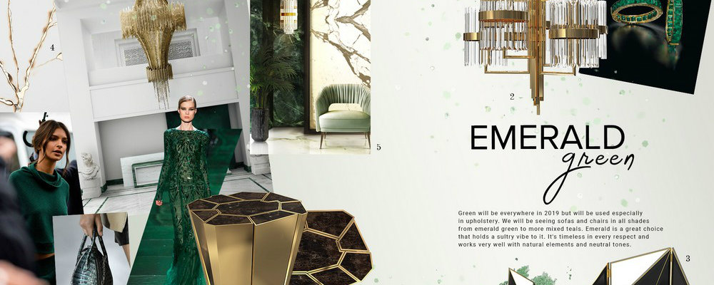 emerald green Emerald Green: the perfect color to bring more glamour to your home FEATURE 5