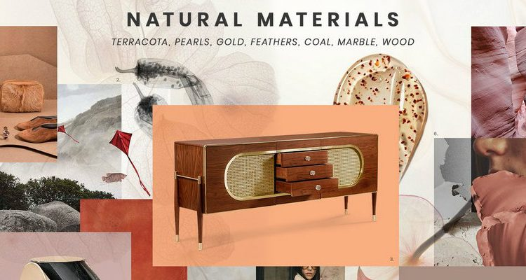 natural materials Inspire yourself with the Natural Materials trend in interior design FEATURE 6 750x400