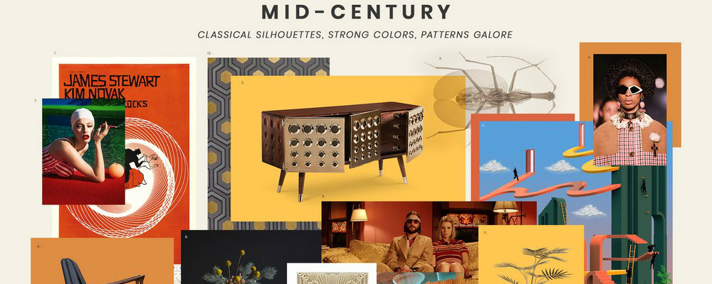 mid-century style Mid-Century style is a 2019 trend: get the look! FEATURE 7