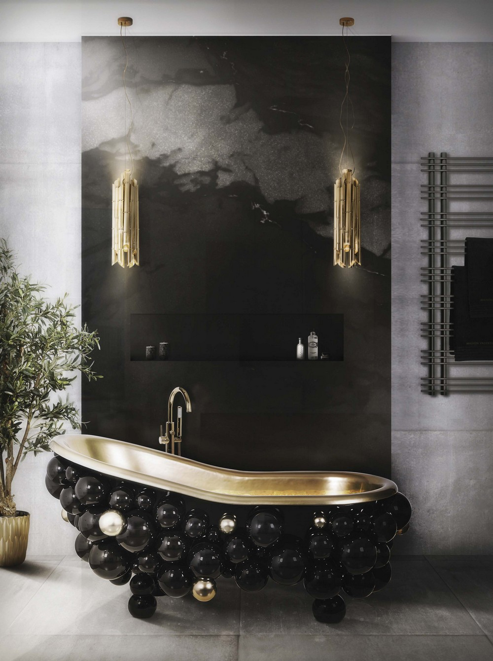 matte black finishes Renovate your bathroom decor with Matte Black Finishes MV Bathroom 15