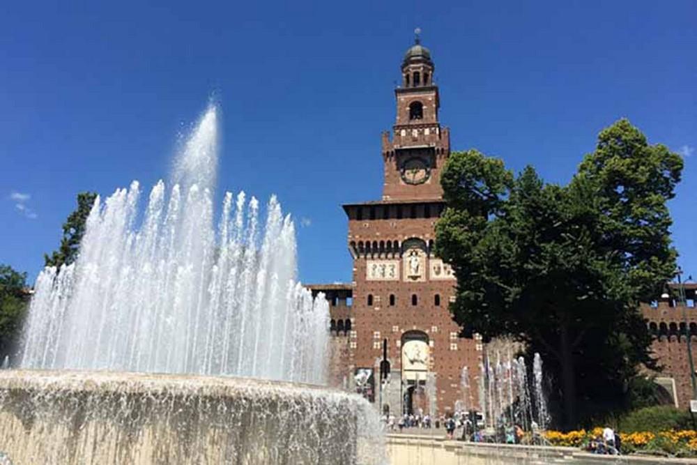 leonardo da vinci A discovery of both Milan and Leonardo Da Vinci's Work & History Sforza Castle 1