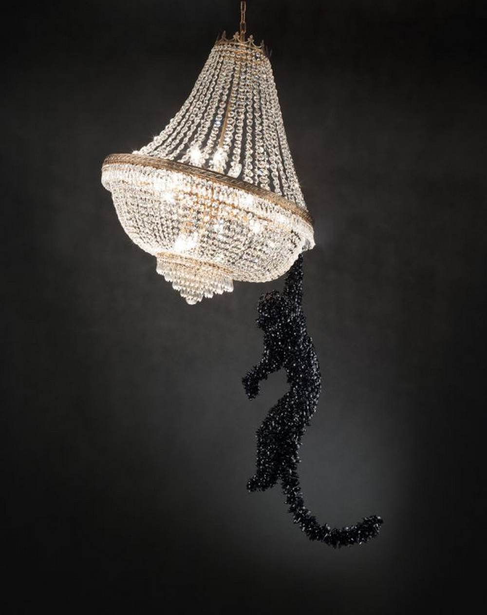 italian craftsmanship Let's have a look at the Most Exquisite Italian Craftsmanship Surprising Contemporary Art and Design Barford Jungle VIP Chandelier