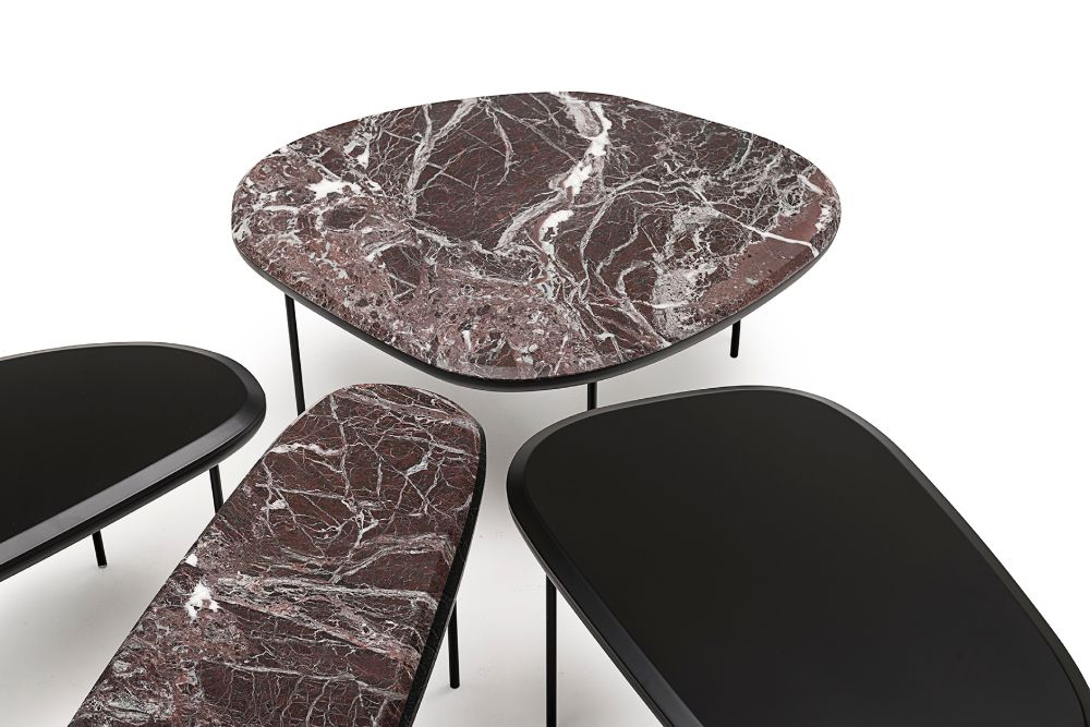 top collections A look at some top collections that came from Milan Design Week Living Divani  Pebble low table 8