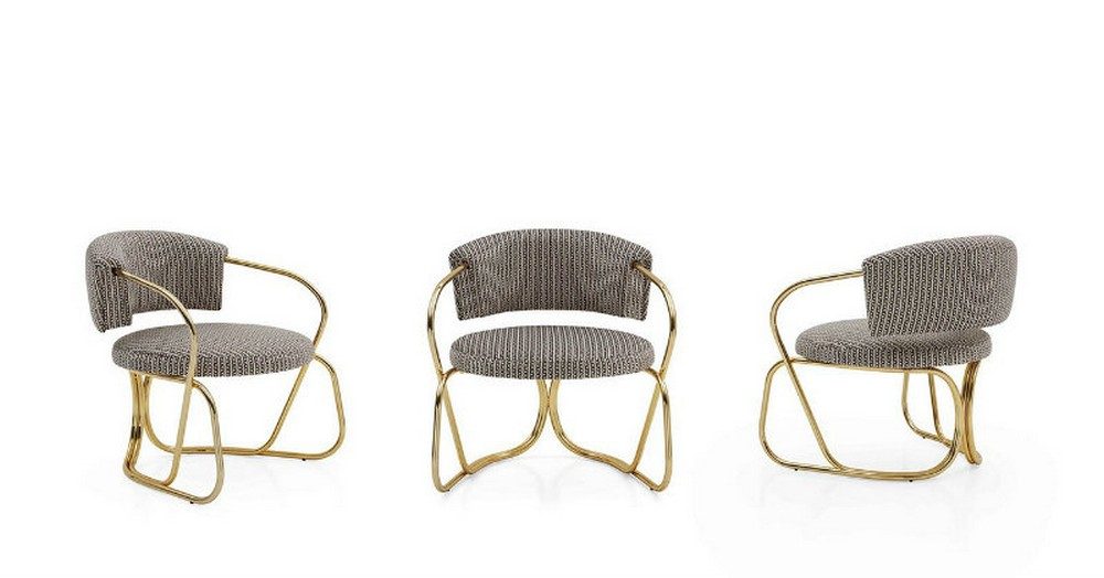 italian brands These chairs and sofas from Italian brands will glamorize your home A ROUND Armchair