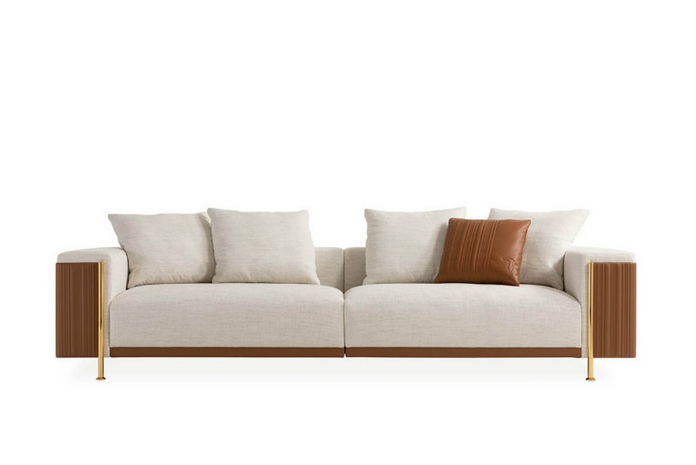 italian brands These chairs and sofas from Italian brands will glamorize your home Deven Sofa